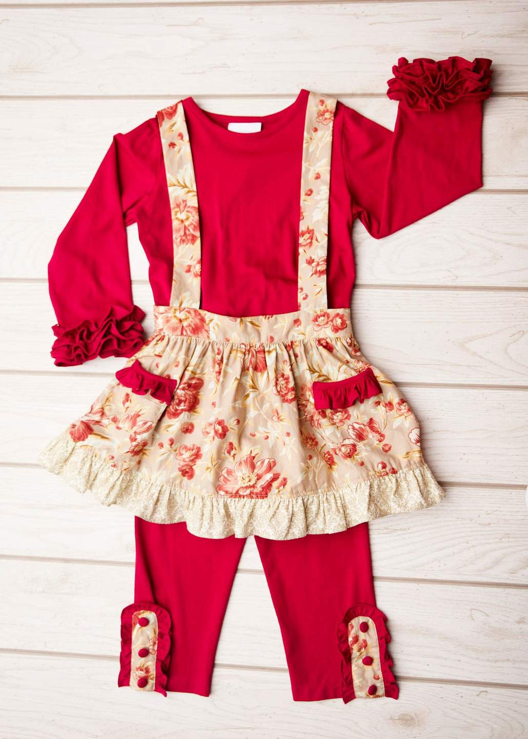 Winter Floral 3pc Set 8