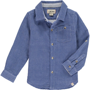 KIDS L/S COLLAR DRESS SHIRT