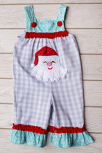 Load image into Gallery viewer, Santa Fun Girl Romper