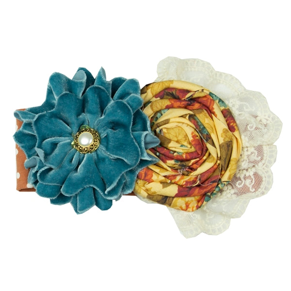 Vintage Bouquet headband