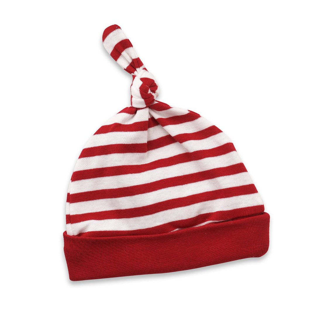 Christmas Hat Red/ White Stripe