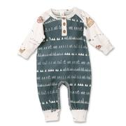 Load image into Gallery viewer, Adventure Henley Romper