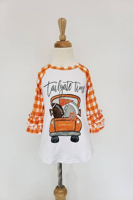Auburn Tailgate Raglan Football  Shirt