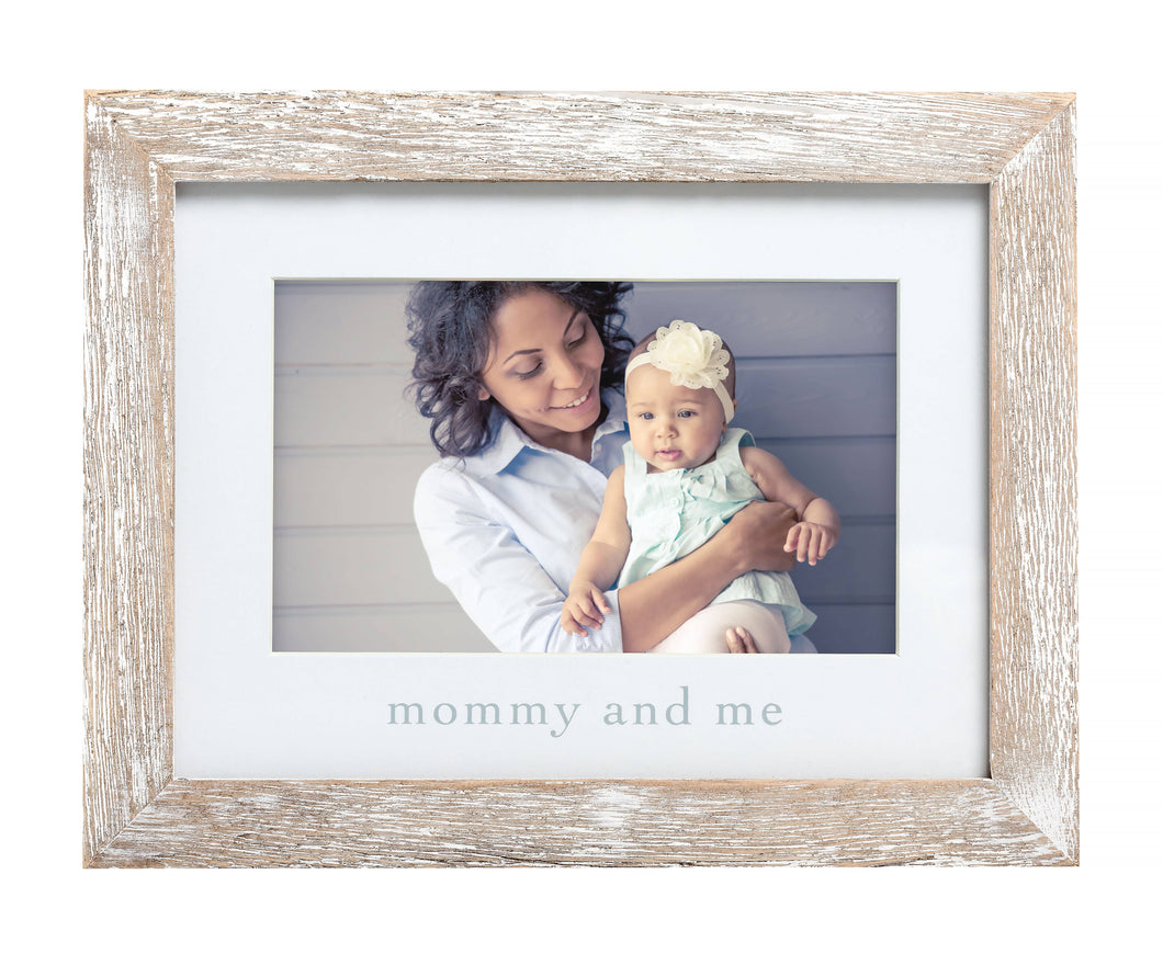 Pearhead - Mommy and Me Sentiment Frame, Rustic