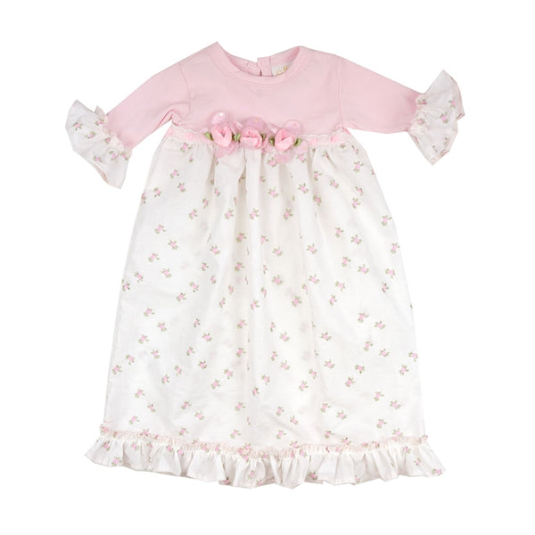Vintage Charm Gown 0-3m