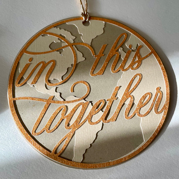 In This Together 2020 Papercut Ornament