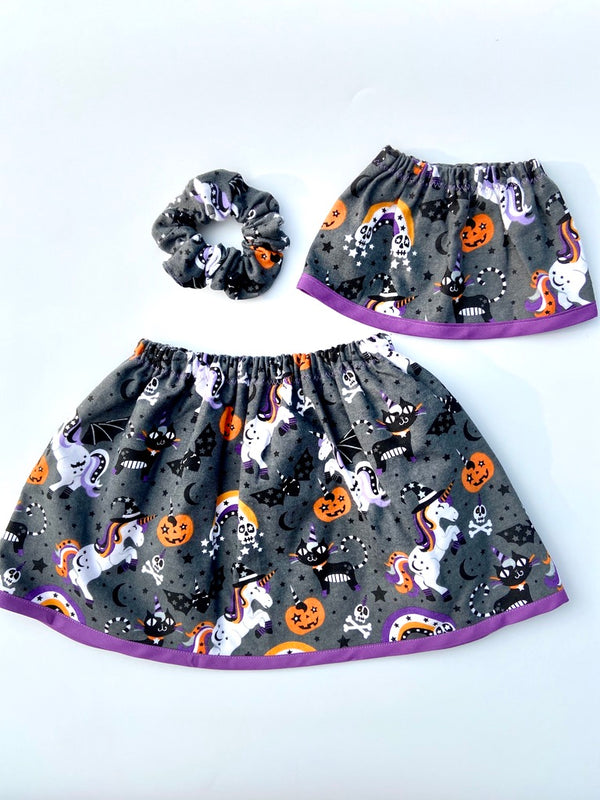Halloween Cotton Fleece Unicorn
