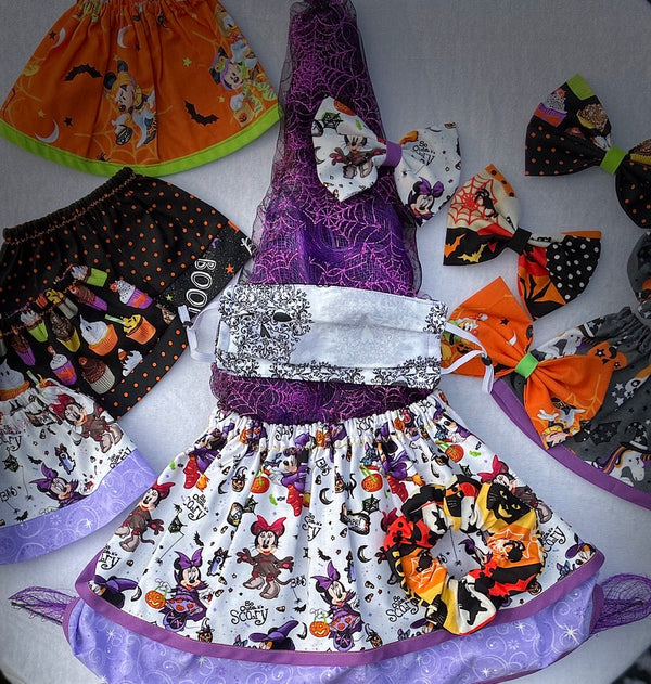Halloween Minnie Hair Accessories