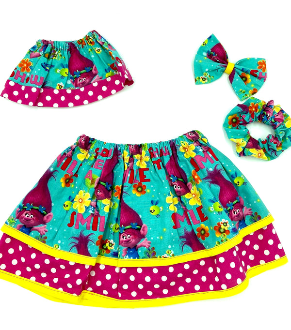 Trolls Doll Skirt