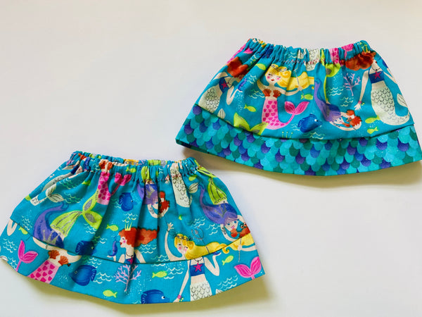 Mermaid Doll Skirt