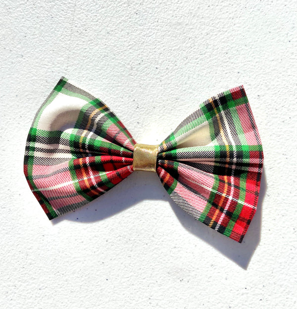 Christmas Plaid Hair Accessory