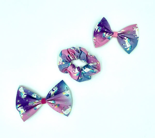 Unicorn Skirt Hair Accessories