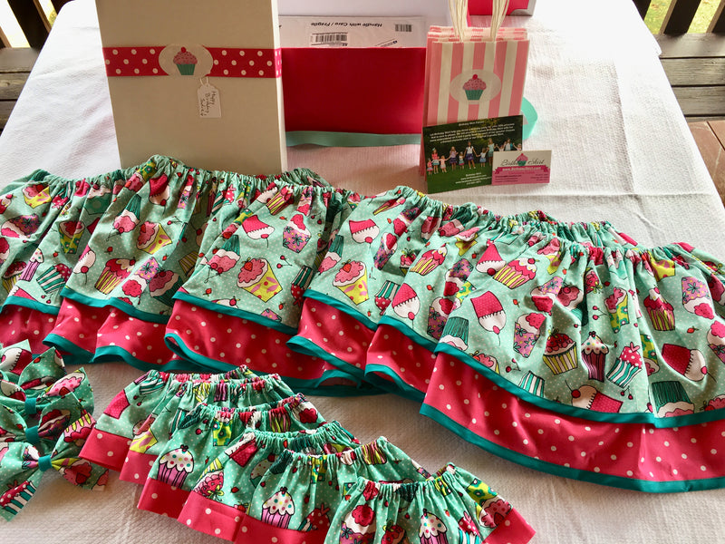 Birthday Doll Skirt Party Package