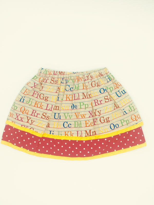 ABC School Skirt