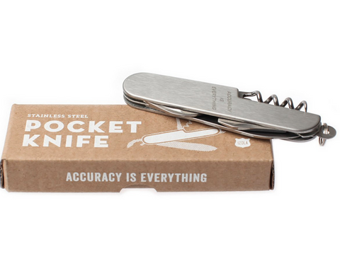 Pocket Knife - Accuracy Is Everything