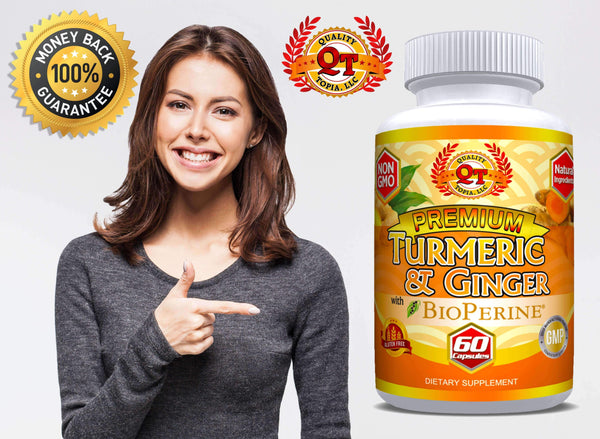TURMERIC CURCUMIN WITH GINGER AND BIOPERINE– A KEY TO HEALTHY LIFE