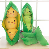 Cute Pea Pod Pillow