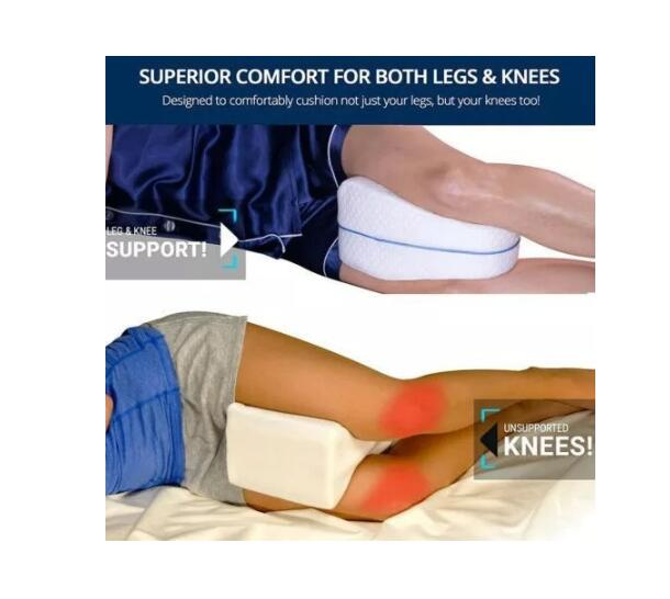 Leg Pillow for Back, Hip, Legs & Knee Support