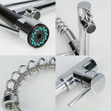 Spring Pull Down Kitchen Faucet Nozzle