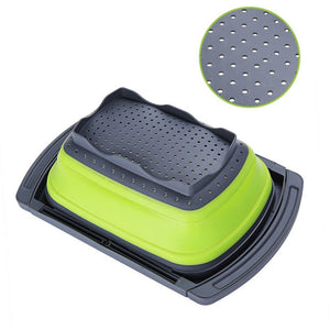 Collapsible Drain Water Filter Basket