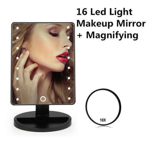 Quality Topia LLC 16 LED Set B LED Touch Screen Makeup Mirror