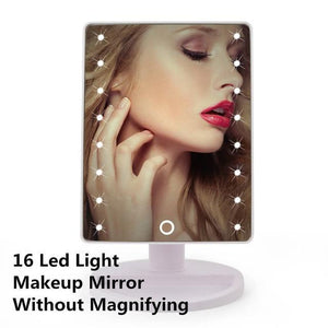 Quality Topia LLC 16LED White LED Touch Screen Makeup Mirror