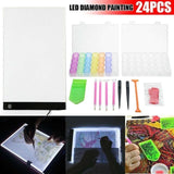 Quality Topia LLC A4 with 22pcs Tools Led Tablet Drawing Light Box Board