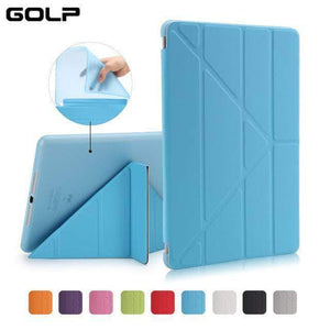 Quality Topia LLC Blue Case Cover for iPad 9.7 PU Leather Smart Cover