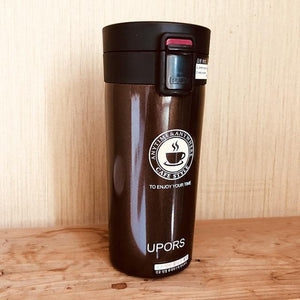 Quality Topia LLC Coffee Premium Stainless Steel Travel Coffee Mug