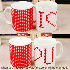 Quality Topia LLC Default Title I Love You Magic Color Change Ceramic Mug