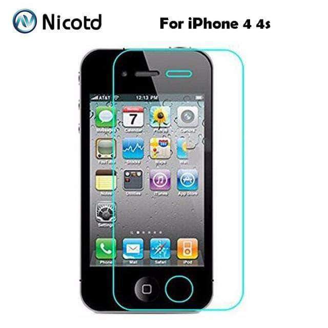 Quality Topia LLC For iphone 4 4s TEMPERED GLASS