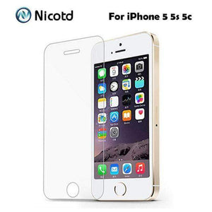 Quality Topia LLC For iphone 5 5s 5c TEMPERED GLASS