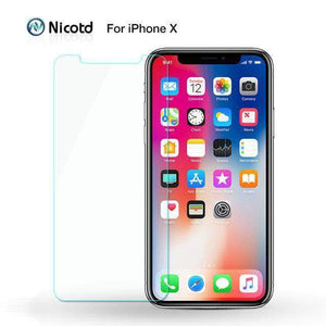 Quality Topia LLC For iphone X TEMPERED GLASS