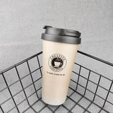 Quality Topia LLC Gradient with handle Premium Stainless Steel Travel Coffee Mug