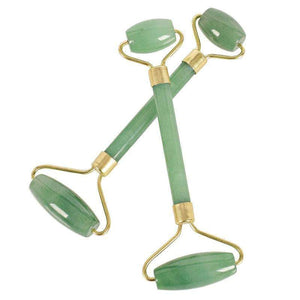 Quality Topia LLC green aventurine Facial & Massage Jade Roller