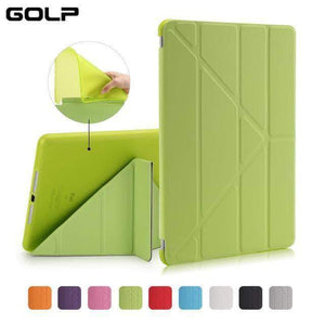 Quality Topia LLC Green Case Cover for iPad 9.7 PU Leather Smart Cover