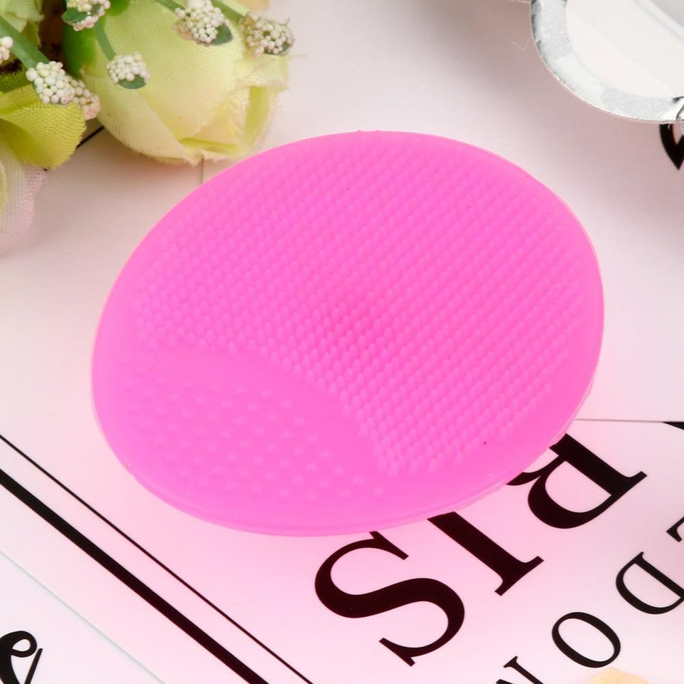 Quality Topia LLC Hot Pink / China Facial Cleansing Brush
