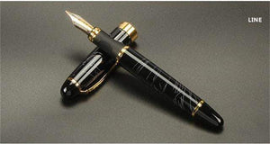 Quality Topia LLC Line Luxury Full Metal Golden Clip Fountain Pen
