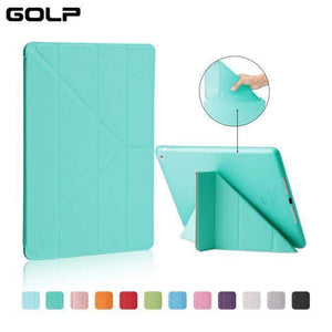 Quality Topia LLC Mint Green Case Cover for iPad 9.7 PU Leather Smart Cover
