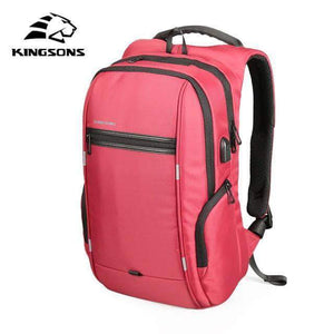 Quality Topia LLC Model A Red / 15 Inch Anti-theft Waterproof Backpack