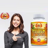Premium Turmeric w/ Ginger and BioPerine