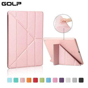 Quality Topia LLC Rose Gold Case Cover for iPad 9.7 PU Leather Smart Cover