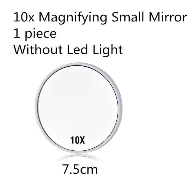 Quality Topia LLC Small Mirror White LED Touch Screen Makeup Mirror