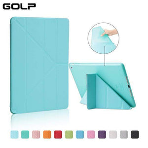 Quality Topia LLC Water Blue Case Cover for iPad 9.7 PU Leather Smart Cover