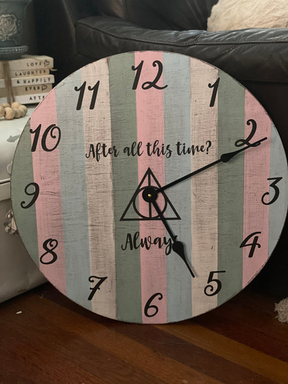 Make it with me Monday - I made a clock