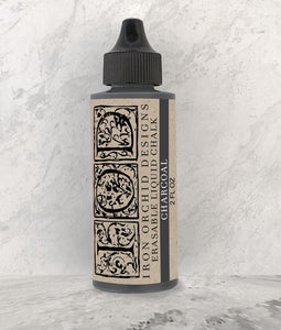 Iron Orchid Designs Decor Erasable Liquid Chalk – Charcoal - Signed Jaclyn