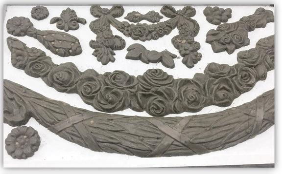 Iron Orchid Designs Decor Moulds – Swags - Signed Jaclyn