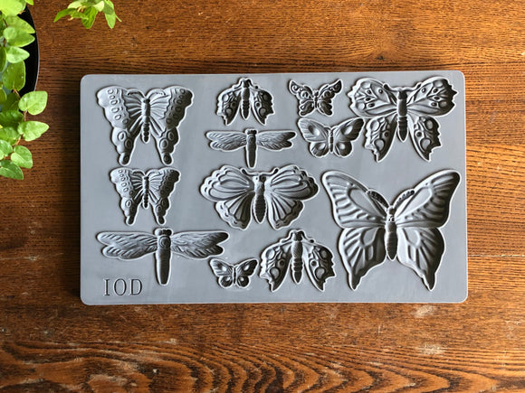 Iron Orchid Designs Decor Moulds – Monarch - Signed Jaclyn