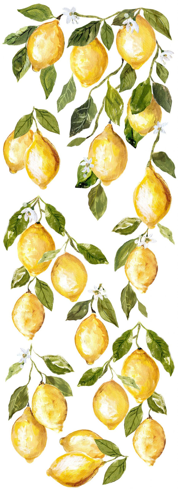 Iron Orchid Designs Decor Transfers – Lemon Drops - Signed Jaclyn