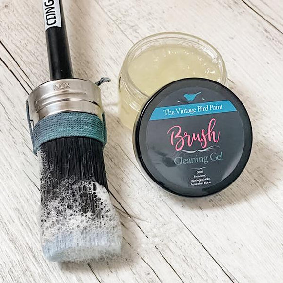 Brush Cleaning Gel | The Vintage Bird - Signed Jaclyn